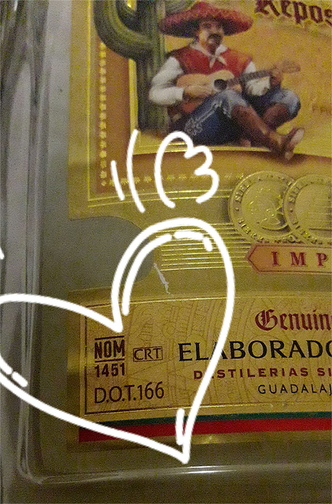 tequila number
